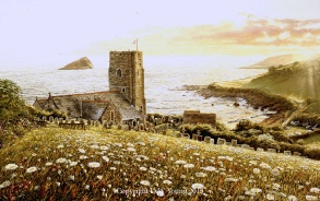 prints wembury, devon david young paintings