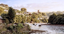 prints noss mayo south devon coast south hams david young paintings